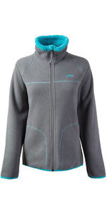2018 Gill Womens Polar Fleece Jacket in Aqua 1702