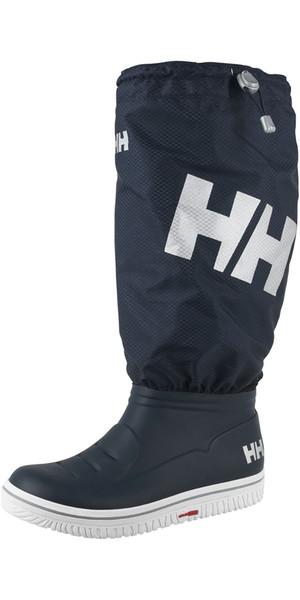 2018 Helly Hansen Aegir 2 Ocean Boot Gaitor Navy / Off White 11176