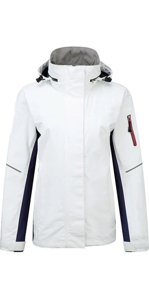 2019 Henri Lloyd Womens Sail 2.0 Inshore Coastal Jacket Optical White YO200021
