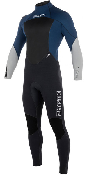 2018 Mystic Star 4/3mm GBS Back Zip Wetsuit - Navy 180019