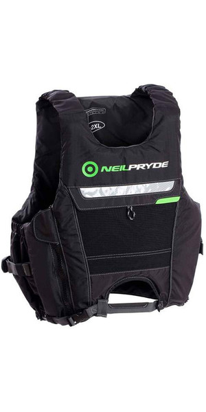 2018 Neil Pryde Elite Hook 50N Buoyancy Aid Black VC01106
