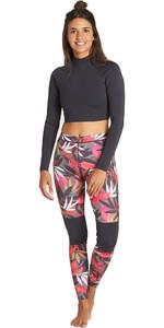 2019 Billabong Womens 1mm Skinny Sea Legs Tropical Q41G05