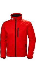 2019 Helly Hansen Crew Jacket Cherry Tomato 30263