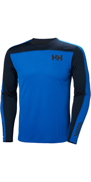 2019 Helly Hansen HH Lifa Active Light LS Baselayer Olympian Blue 49331