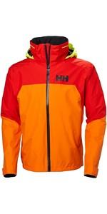2019 Helly Hansen HP Fjord Jacket Blaze Orange 34009