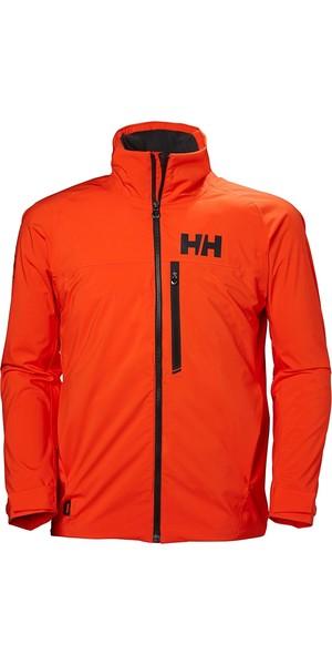 2019 Helly Hansen HP Racing Midlayer Jacket Cherry Tomato 34041