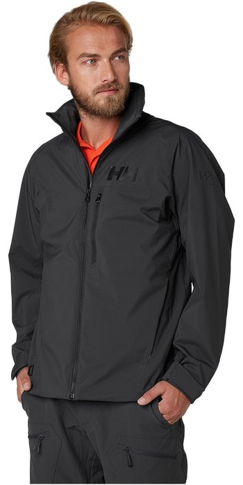 2021 Helly Hansen HP Racing Midlayer Jacket Ebony 34041