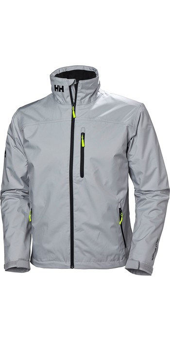 2020 Helly Hansen Mens Crew Midlayer Jacket Grey Fog 30253