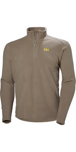 2019 Helly Hansen Mens Daybreaker 1/2 Zip Fleece Fallen Rock 50844