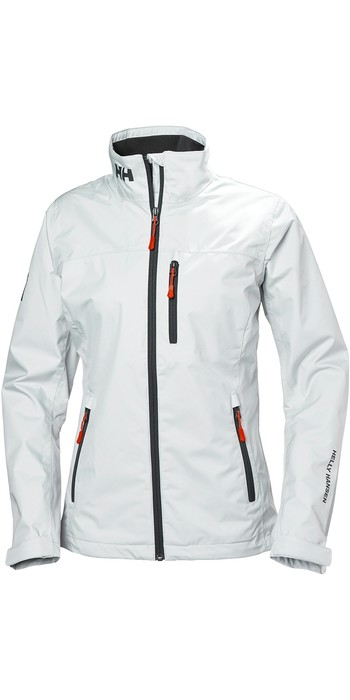 2020 Helly Hansen Womens Crew Jacket White 30297