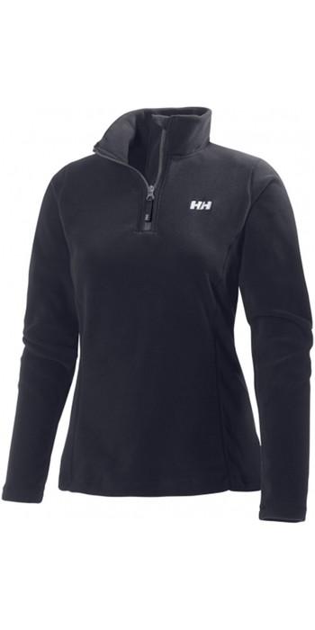 2021 Helly Hansen Womens Daybreaker 1/2 Zip Fleece Black 50845