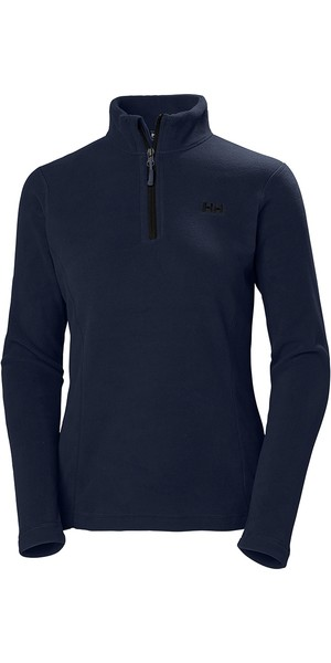2019 Helly Hansen Womens Daybreaker 1/2 Zip Fleece Graphite Blue 50845