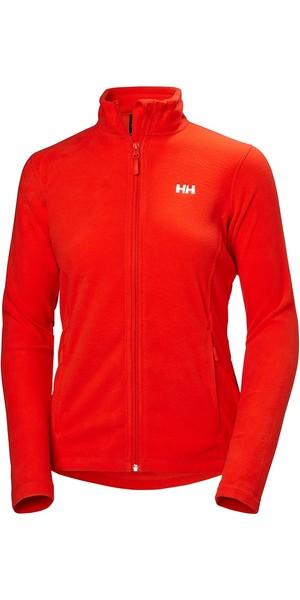 2019 Helly Hansen Womens Daybreaker Fleece Jacket Cherry Tomato 51599