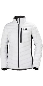 2019 Helly Hansen Womens HP Hybrid Insulator Jacket White 34080