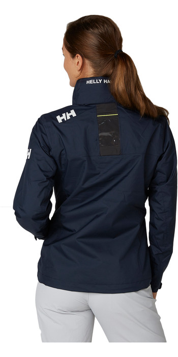 2020 Helly Hansen Womens Hooded Crew Mid Layer Jacket Navy 33891