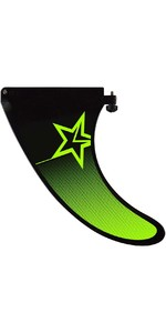 2020 Jobe Inflatable Paddle Board Center Fin Black / Green 480019303
