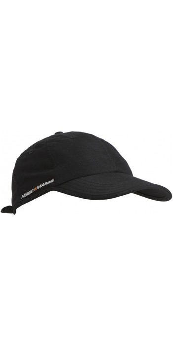 2019 Magic Marine Hurricane Snap Back Cap Black 160565