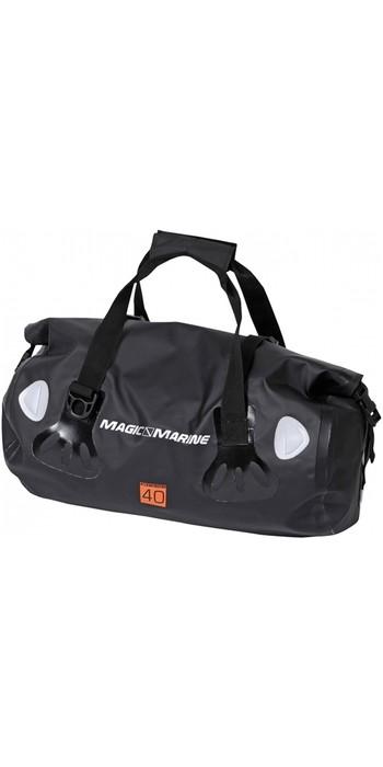 2020 Magic Marine Waterproof Duffle / Sports Bag 40L Black 150290