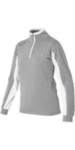 2020 Magic Marine Womens Rigol Sweat Fleece Top Rock Grey 160510
