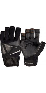 2020 Magic Marine Short Finger Ultimate Sailing Gloves Black 180006