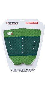 2020 Northcore Ultimate Grip Deck Pad The Forest Green NOCO63H