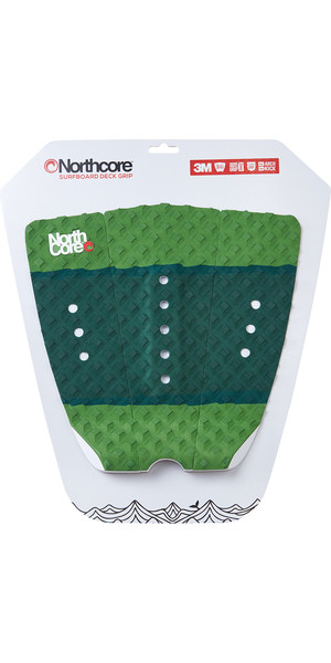 2019 Northcore Ultimate Grip Deck Pad The Forest Green NOCO63H