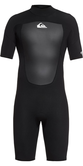 2021 Quiksilver 2mm Prologue Back Zip Shorty Wetsuit Black EQYW503010