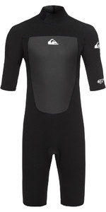 2021 Quiksilver Junior Prologue 2mm Shorty Wetsuit Black EQBW503008