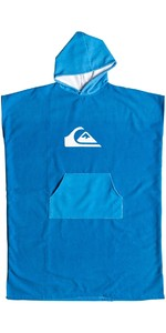 2019 Quiksilver Microfiber Hooded Towel Poncho / Change Robe Blue EQYAA03741