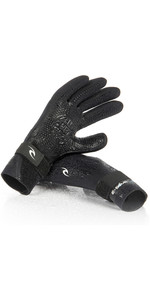2020 Rip Curl E-Bomb 2mm 5 Finger Neoprene Glove Black WGL5SE