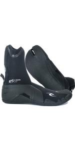 2020 Rip Curl E-Bomb 3mm Split Toe Wetsuit Boots Black WBO7EM