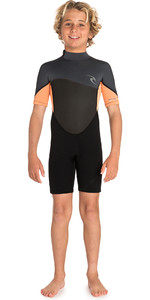 2019 Rip Curl Junior Omega 1.5mm Shorty Wetsuit Orange WSP7FB