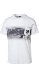 1bf88168 2019 Rip Curl Mens Action Original Surfer T-Shirt Optical White CTEDA5 ...