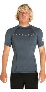 2019 Rip Curl Mens Dawn Patrol Short Sleeve Rash Vest Navy WLUGDM