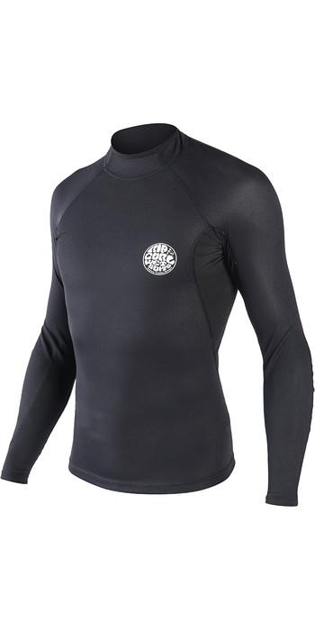 2019 Rip Curl Mens Hotskin 0.5mm Long Sleeve Neoprene Jacket Black WVE8DM