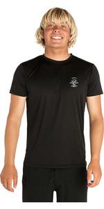 2019 Rip Curl Mens Search Logo Short Sleeve UV T-Shirt Black WLE9CM