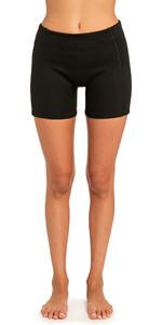 2020 Rip Curl Womens 1mm Dawn Patrol Neoprene Shorts Black WSH8EW
