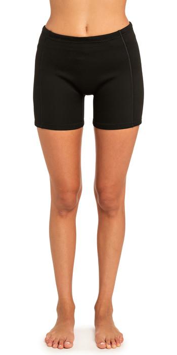 2021 Rip Curl Womens 1mm Dawn Patrol Neoprene Shorts Black WSH8EW