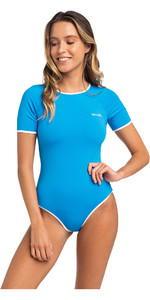 2019 Rip Curl Womens Heat Wave Surf Suit One Piece Bright Blue GSIFK5