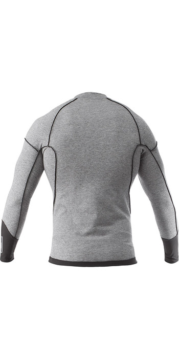 2020 Zhik Mens Hydromerino Long Sleeve Top Grey YTP0040