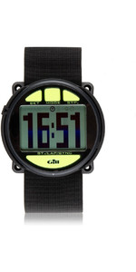 2019 Gill Regatta Race Timer Watch BLACK lime buttons W014