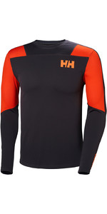 2019 Helly Hansen HH Lifa Active Light LS Baselayer Ebony 49331