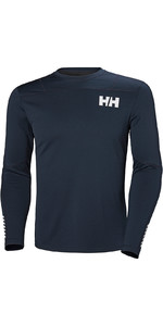 2019 Helly Hansen HH Lifa Active Light LS Baselayer Navy 49331