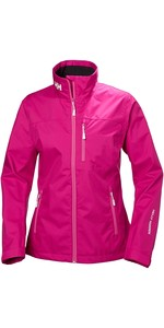 2019 Helly Hansen Womens Crew Jacket Dragon Fruit 30297