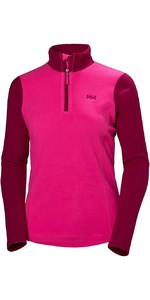 2019 Helly Hansen Womens Daybreaker 1/2 Zip Fleece Dragon Fruit 50845