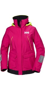 2019 Helly Hansen Womens Pier Coastal Jacket Dragon Fruit 33886