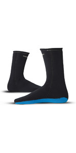 2019 Magic Marine Thermo Neoprene Socks 2mm Black 140105