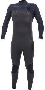 2019 O'Neill Mens HyperFreak+ 5/4mm Chest Zip Wetsuit Raven / Black 5345