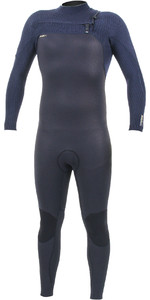 2019 O'Neill Mens HyperFreak+ 5/4mm Chest Zip Wetsuit Black / Abyss 5345