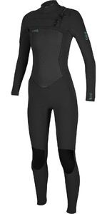 2019 O'Neill Womens Epic 5/4mm Chest Zip GBS Wetsuit Black 5371